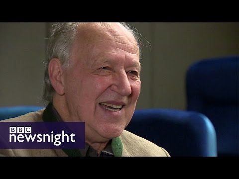 Werner Herzog on films, comedy and the internet - BBC Newsnight