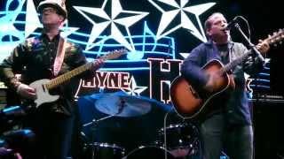 "WAYNE HANCOCK ""Thunder Storms & Neon Signs"" at Gas Monkey Live, Dallas Tx. December 27, 2014"