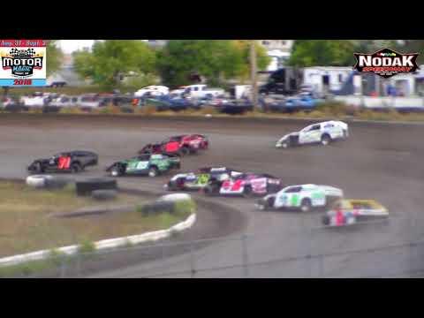 Nodak Speedway IMCA Modified Heats (Motor Magic Night #1) (9/1/18)