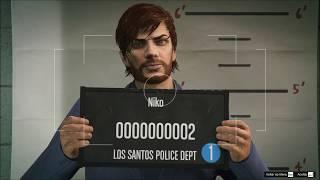 GTA V Online Criando o filho do Niko Bellic do GTAIV no GTAV Online