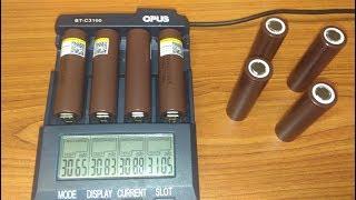 тест и сравнение высокотоковых аккумуляторов INR18650 HG2 3000 мАч