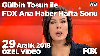 Minibüs otel lobisine daldı! 29 Aralık 2018 Gülbin Tosun ile FOX Ana Haber Hafta Sonu