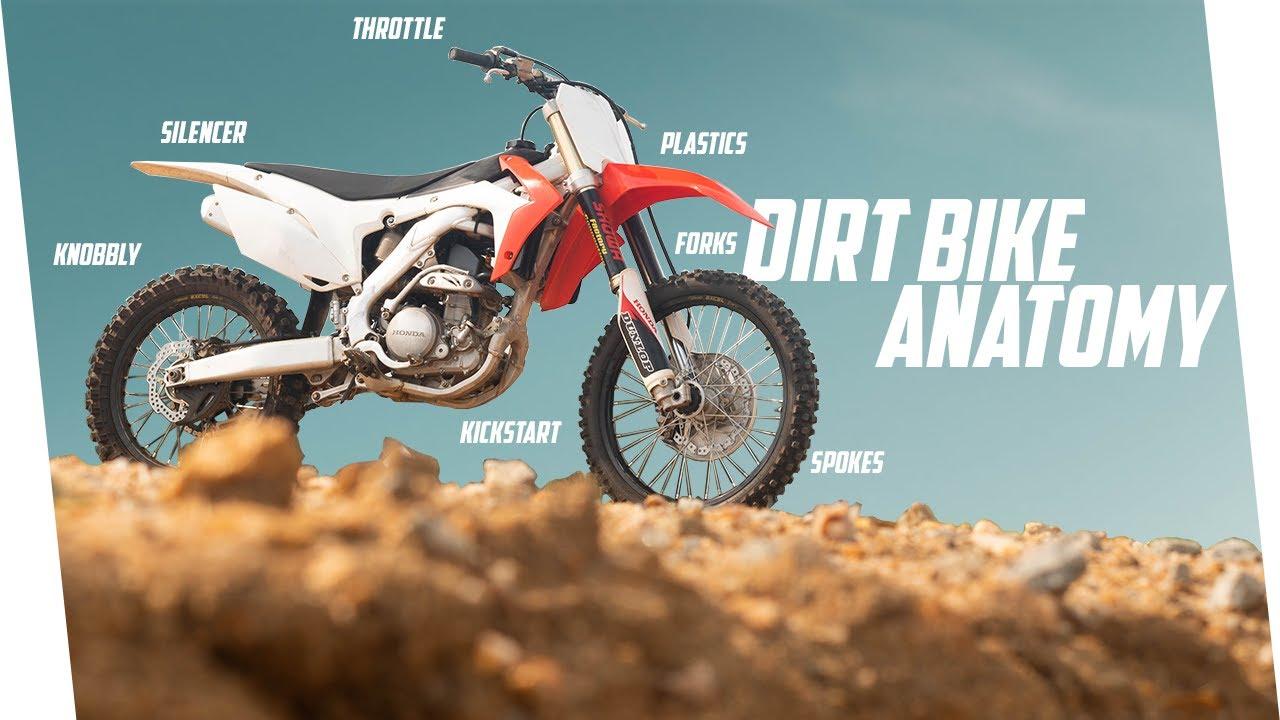Dirt Bike Anatomy 60 Motocross Bike Part Names Youtube