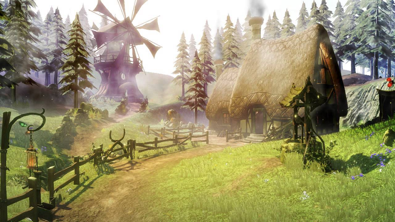 Fairytale Dream Animated Wallpaper