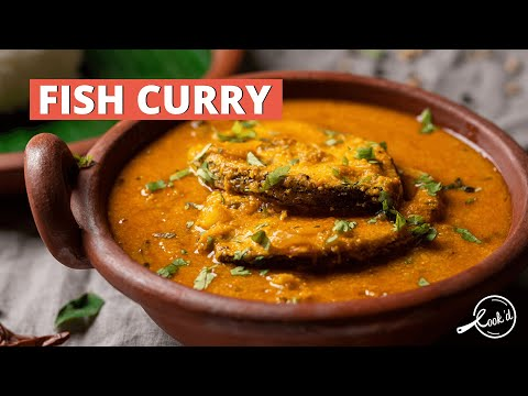 Fish Curry Recipe | Madras Style Fish Gravy | Cookd