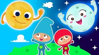 GOOD MORNING SONG | Nursery Rhymes | Green Family Kids Songs