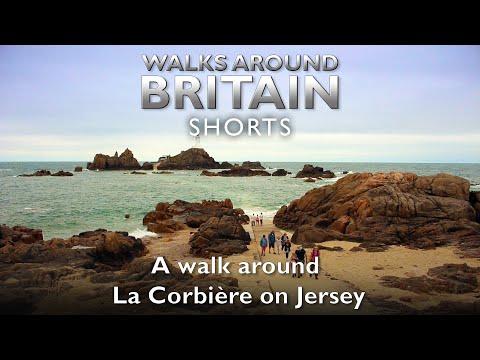 A walk around La Corbière on Jersey - Walks Around Britain Shorts