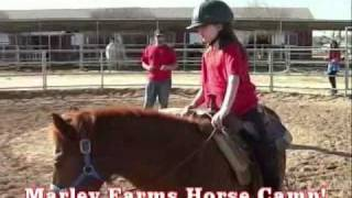 Kids Horse Camp at Marley Farms in Arizona - Learn to Ride - Ages 6 & Up