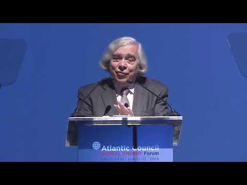 Ernest Moniz: New energy technologies and new energy geopolitics - 2019 Global Energy Forum