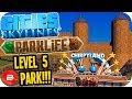 Cities Skylines PARKLIFE - First Level 5 Park!! #3 Cities Skylines Parklife DLC