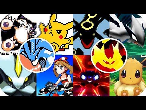 Evolution of Pokemon Intros Opening (1996