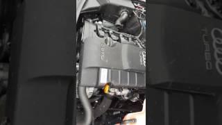 Engine work-работа двигателя 2.0 tfsi