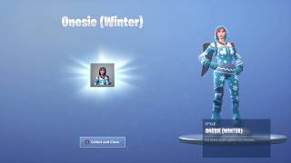 How To Unlock The New Onesie Winter Skin(Edit Style) Fortnite
