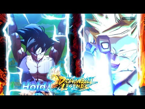 CRAZY HYPE FIRST SPIRIT BOMB ANIMATION! Dragon Ball Legends SPARKING SUMMONS! | DB