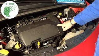 Changer filtre à air Clio 3 moteur 1.2 16v.