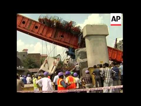 Three killed, several wounded as bridge collapses