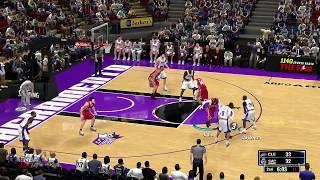 NBA 2K14 PC URB MOD LeBron James first game  vs Kings 2003