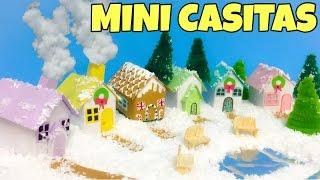Manualidades miniatura -Navidad /Jardín ZEN anti stress