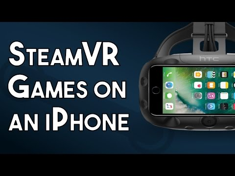 How To Play SteamVR Games On An IPhone With Trinus VR