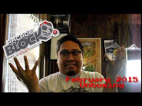 Unboxing - Arcade Block: February 2015