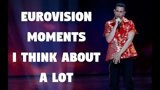 Eurovision moments I think about a lot