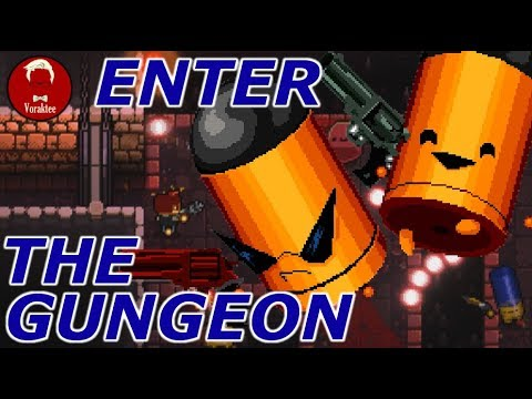 Enter the Gungeon Let's Play | LEADING THE PAIN PARADE