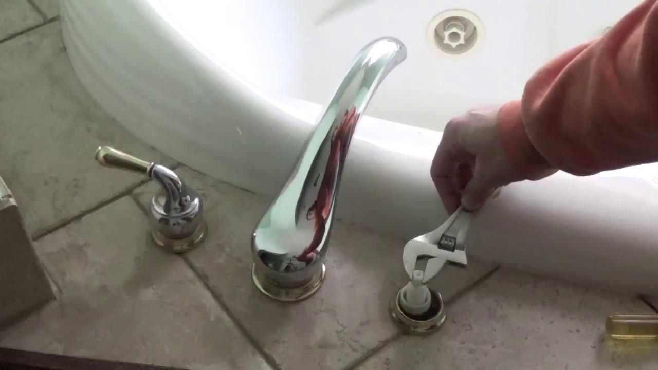 Bathroom Faucet Keeps Running how to turn off a faucet that keeps running - youtube