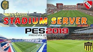 """COMO TENER ESTADIOS INFINITOS PARA PES 2019 EN PC!! - TUTORIAL """"STADIUM SERVER"""""""