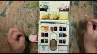 Watercolour Travel Kits ~ ArtA&A #31.mov