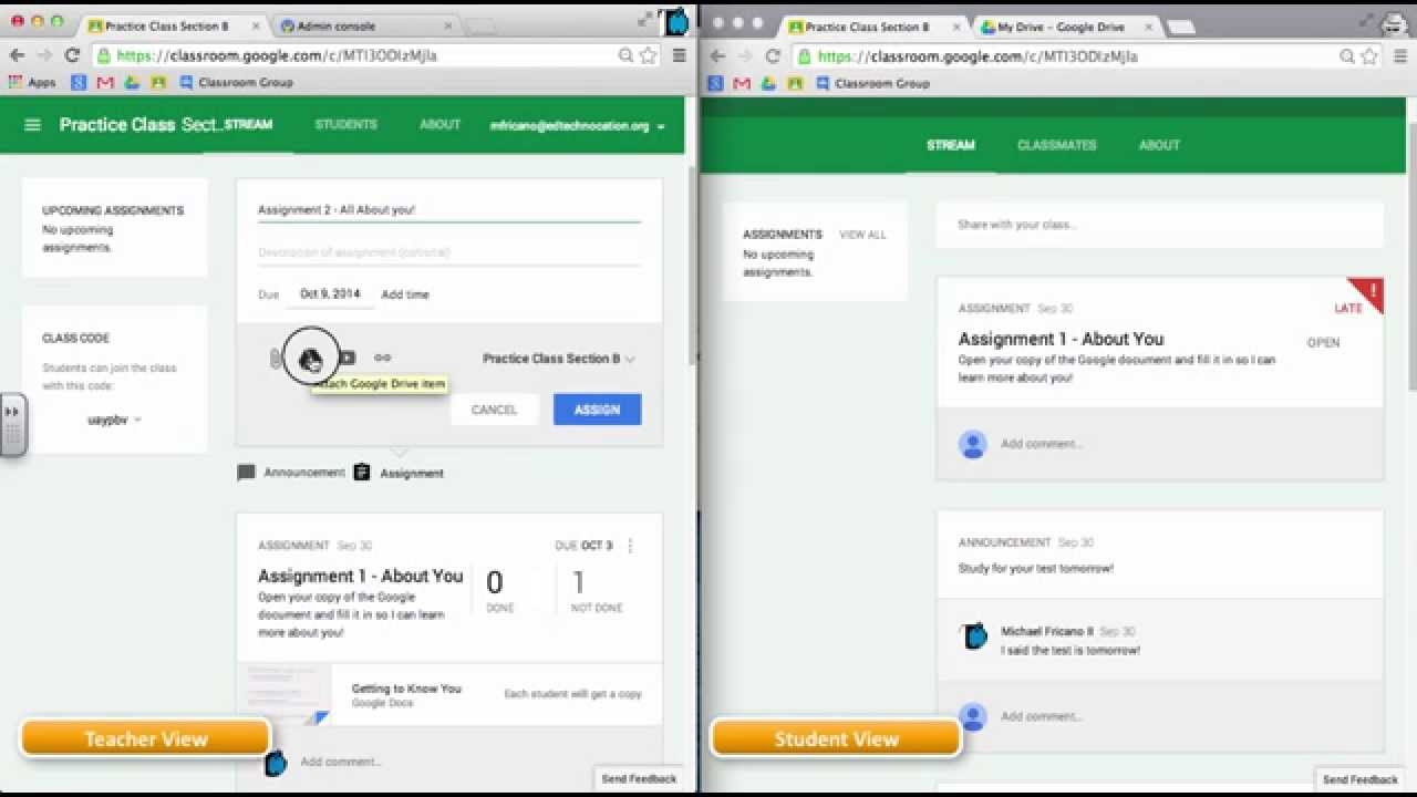 google assignment You know that students just love homework, and with google classroom, you, as the teacher, can after you post the assignment, your students receive an e-mail notification of the assignment, after.