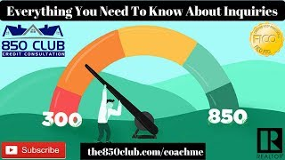 Everything You Need To Know About Inquiries - FICO, Credit Karma, Credit Card, No Credit, Increase