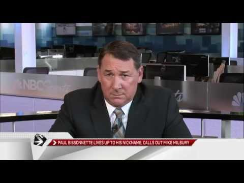 Mike Milbury Responds to Paul Bissonnette's Criticism