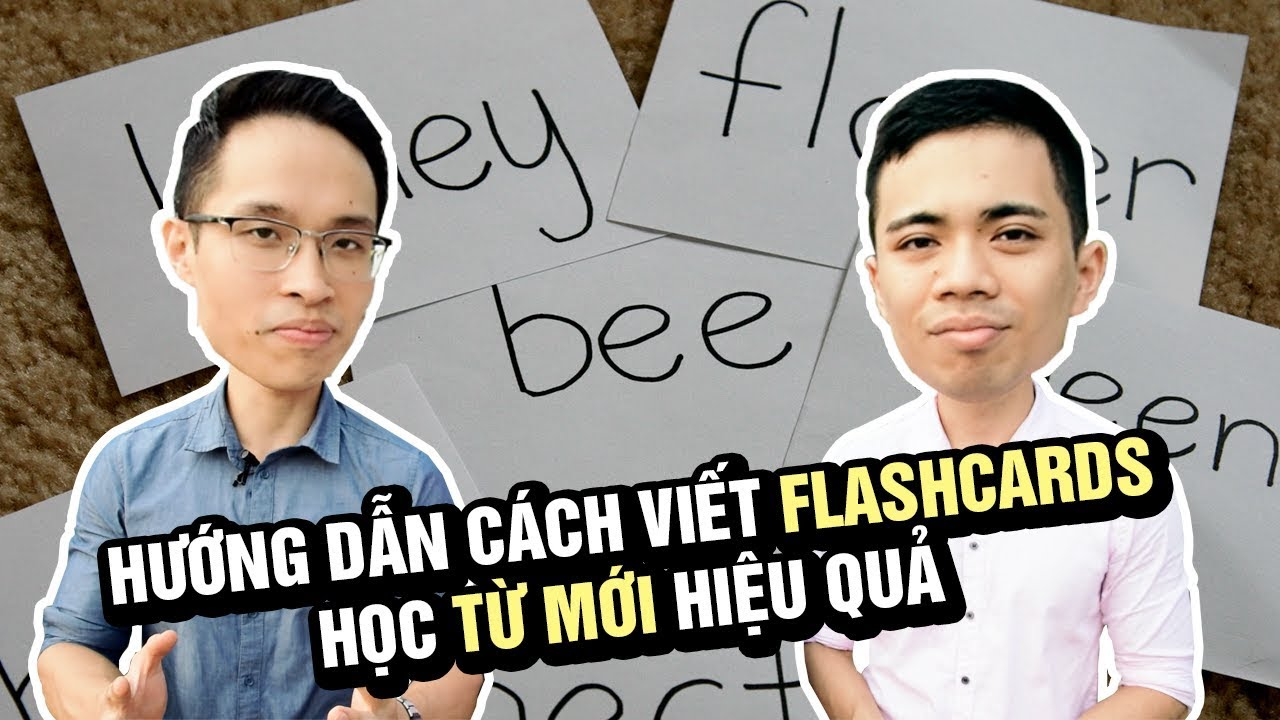 Hướng Dẫn Làm Thẻ Từ Flashcards Chi Tiết