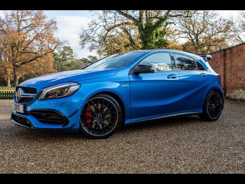 Mercedes A45 AMG - South Seas Blue