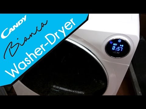 Candy Bianca BWD 596 PH3 washer dryer - Demonstration & Review