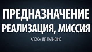 Предназначение, реализация, миссия. Александр Палиенко.