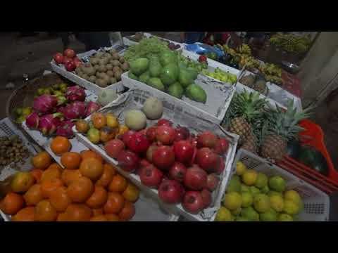 видео: Индия.Гоа.Обзор фруктов и цен зимой.Рынок фруктов и морепродуктов Калангут.
