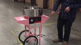 Sugar Floss Machine Commercial Cotton Candy Maker Cotton Candy Machine