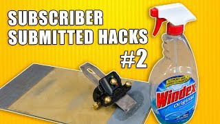 Subscriber Submitted Woodworking Hacks Episode 2 - Workshop Tips and Tricks
