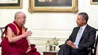 Обама встретился с Далай-ламой вопреки возражениям Китая