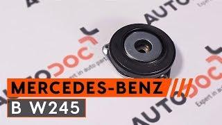 Instalace přední levý Brzdove hadicky MERCEDES-BENZ B-CLASS: video příručky
