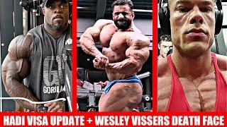 Hadi Choopan Visa/ Physique Update Brandon Curry's Best Update Yet Wesley Vissers SHREDDED ASF