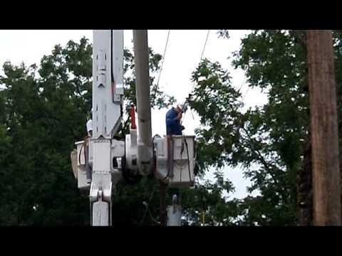 Westar Energy Storm Restoration: 2011-8-18 Northeast Kansas