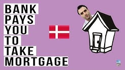 Bankers Stunned By Denmark's NEGATIVE Mortgage Rates! Bank Pays YOU!