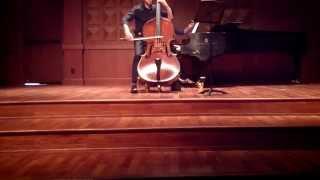 Franck Sonata for Violin and Piano, A Major III. Recitativo- Fantasia ben moderato