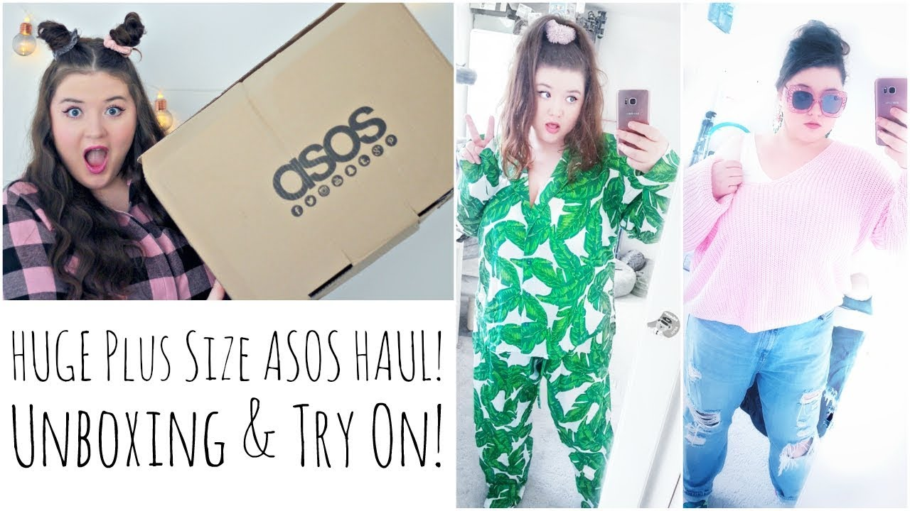 4692c23677f HUGE Plus Size ASOS Haul! Unboxing   Try on! - YouTube