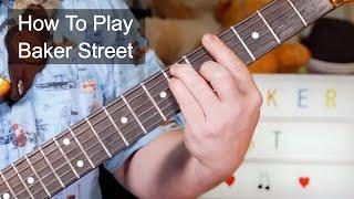 'Baker Street' Gerry Rafferty Guitar Lesson