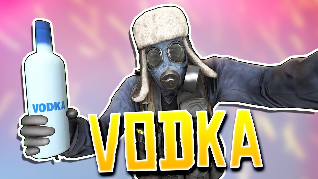 What is added to vodka