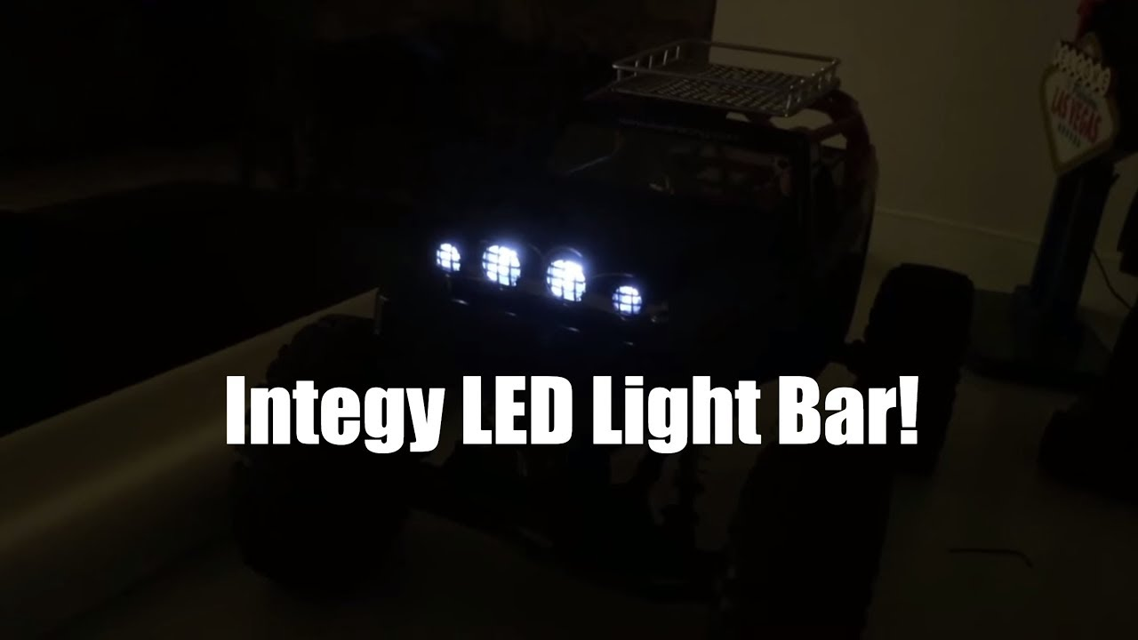 Driftomaniacs integy led light bar review lights for axial rock axial axialdeadbolt integy mozeypictures Images