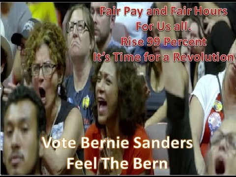 Fair Pay for us all   Bernie Sanders